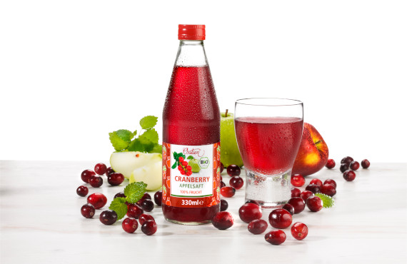 Cranberry Apfelsaft - Solutions Vertriebs GmbH