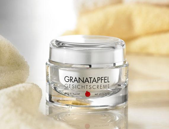Granatapfel-Gesichtscreme - Solutions Vertriebs GmbH